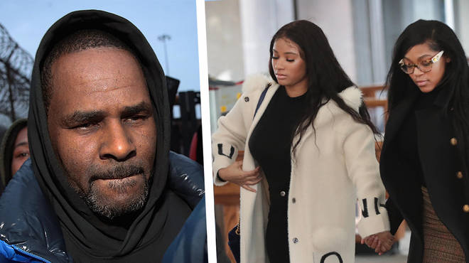Azriel Clary (right) and Joycelyn Savage (left) After the recent arrest for R.Kelly   Black america World News