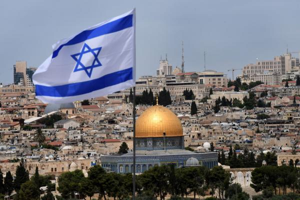Picture shows calm in the face of Political Unrest in Israel   jpost.com