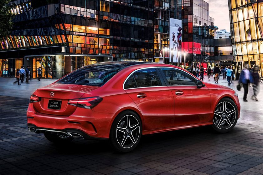 The 2019 Mercedes-Benz A-Class Sedan - Mercedes-Benz USA