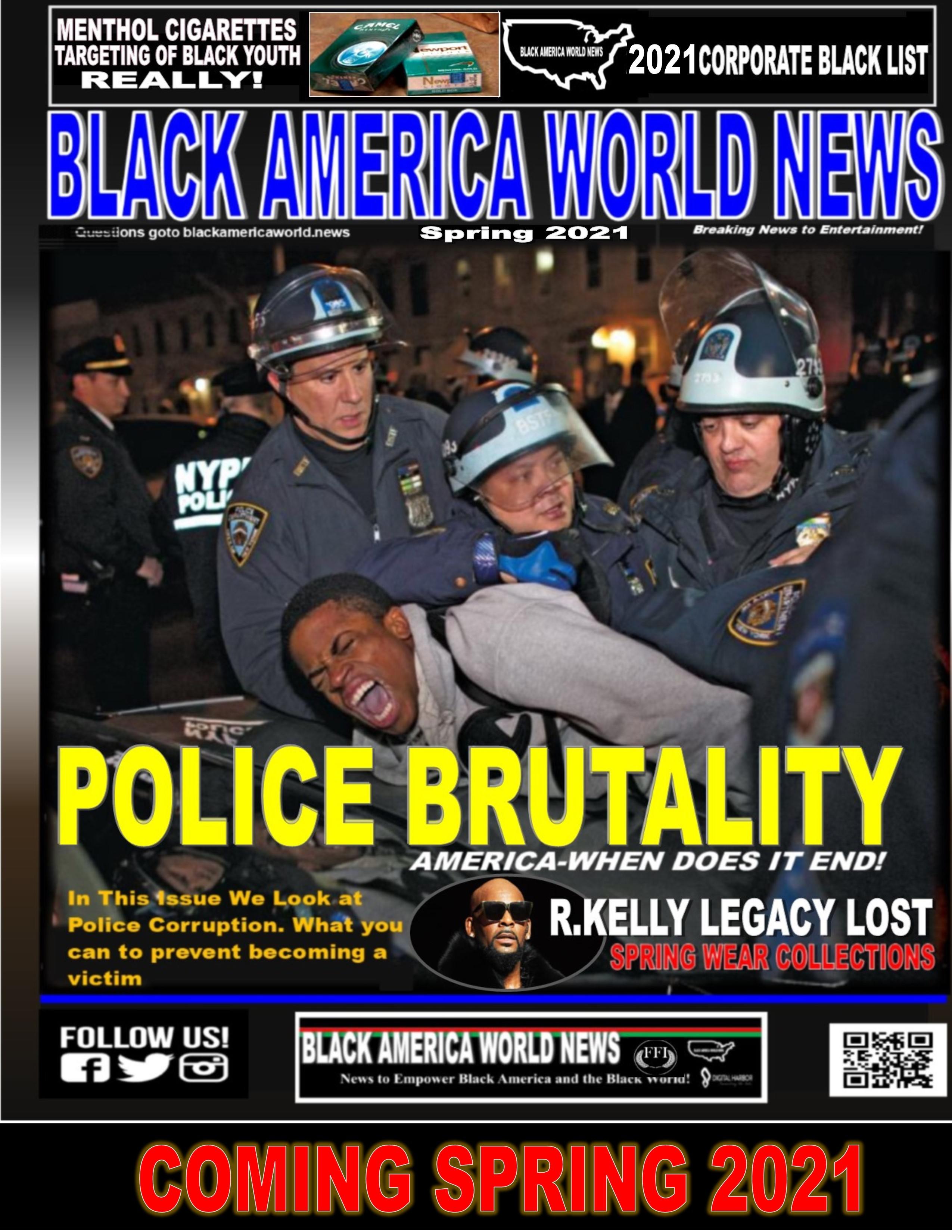 Black America World News Cover
